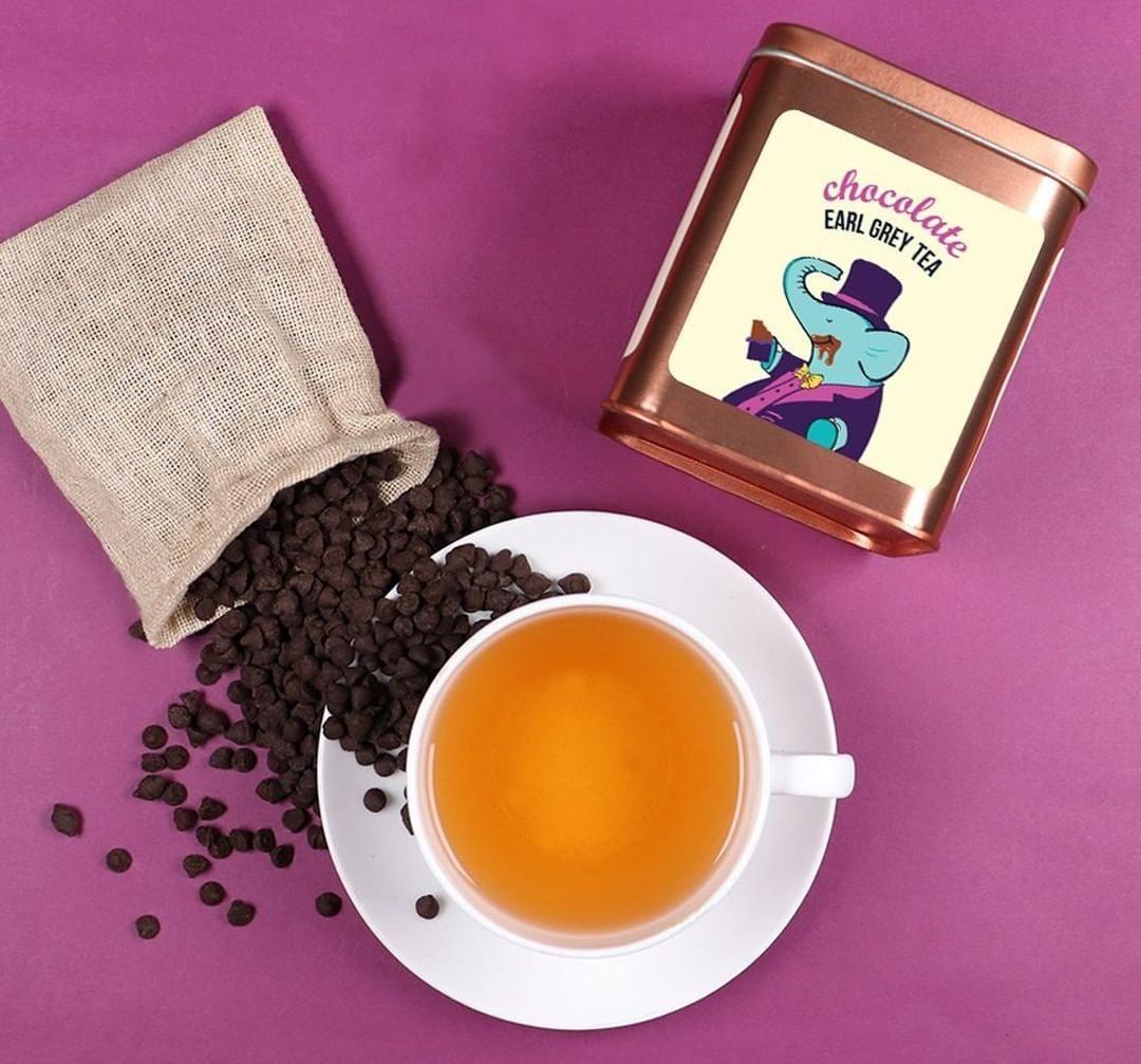 Chocolate Ear Grey tea / Tea Trunk