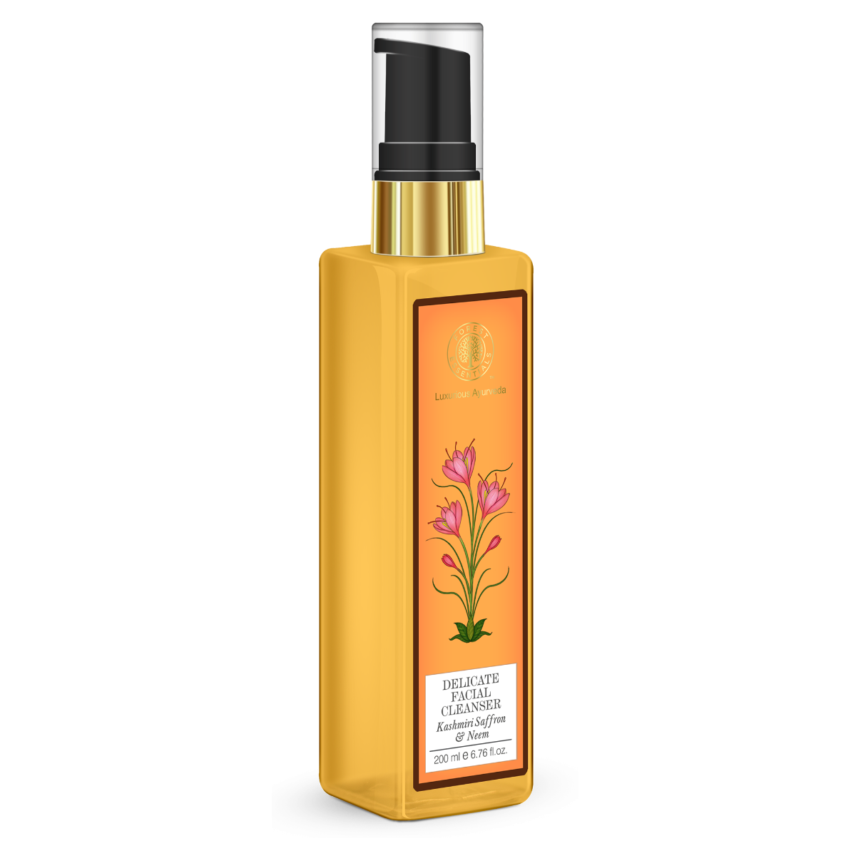 Forest Essentials, Facial Cleanser 200 ml Kashmiri Saffron & Neem