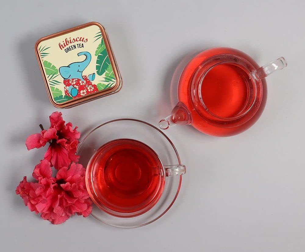 Hibiscus tea / Tea Trunk