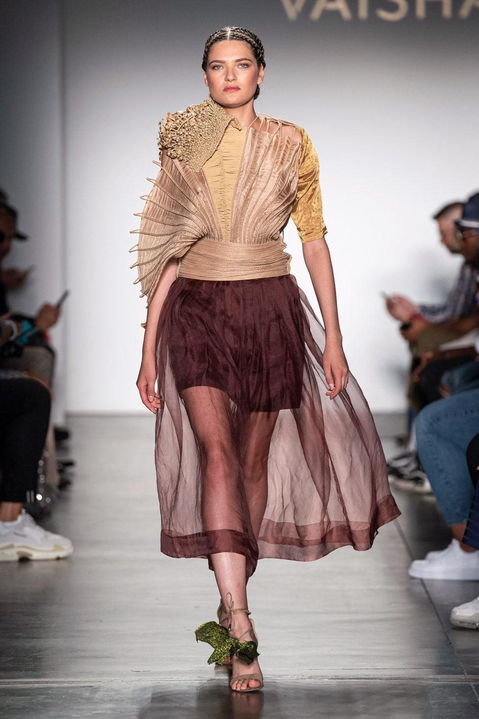 Vaishali S, Umber at New York Fashion Week SS20