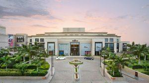 Exterior facade of DLF Emprio mall, Delhi