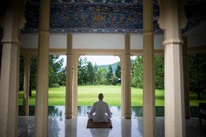 mediation in music pavilion