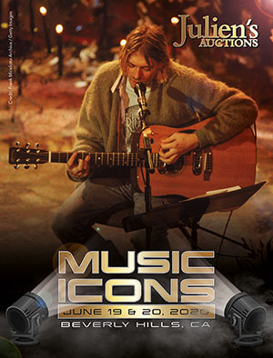 Music Icons Cover Julien's auctions