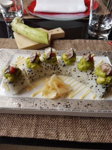 Perigod sushi, Wasabi by Morimoto