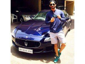 Sushant Singh Rajput with his Maserati