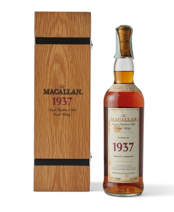The Macallan Fine and Rare 37-year-old whisky