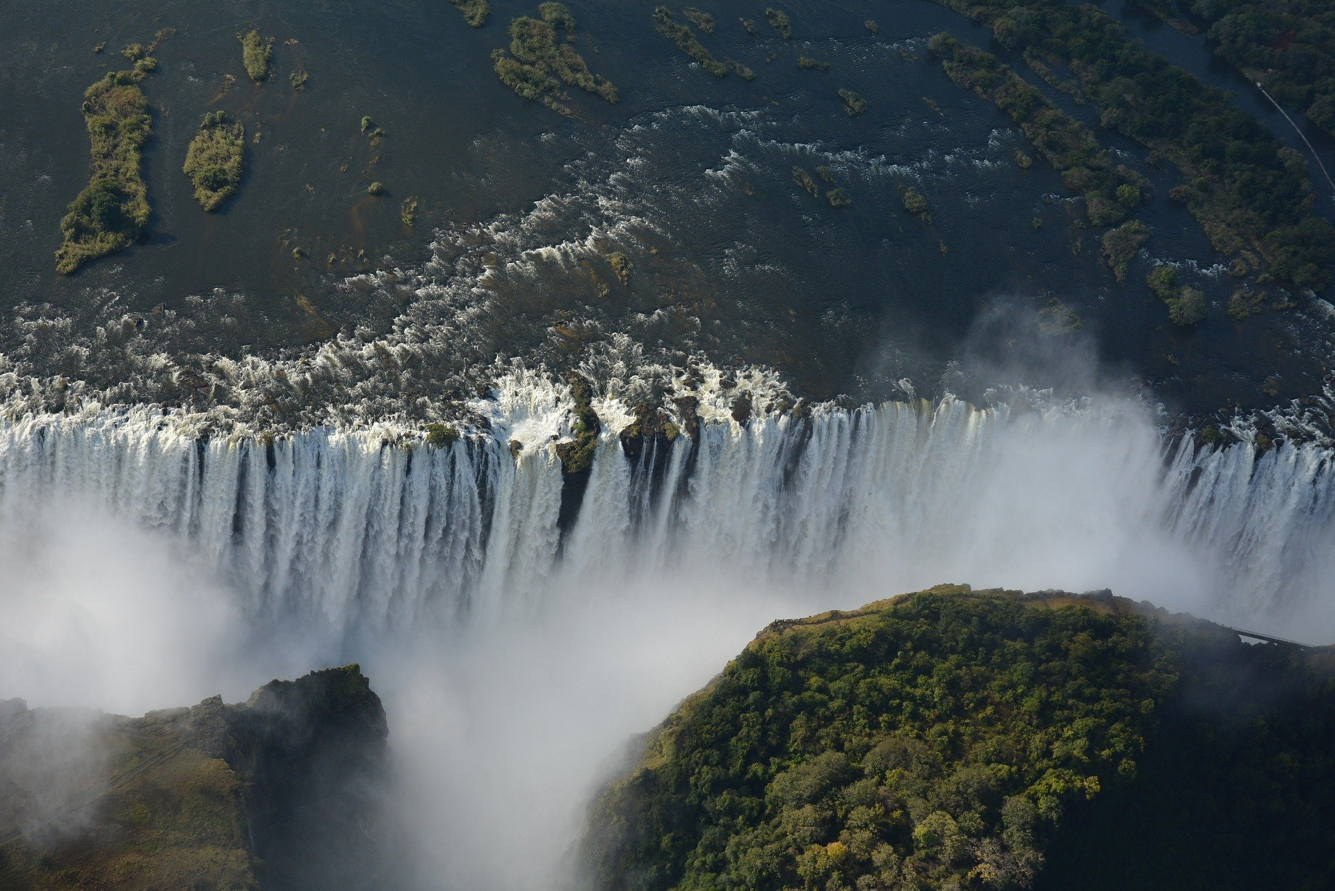 Victorial Falls. Source: Pixabay