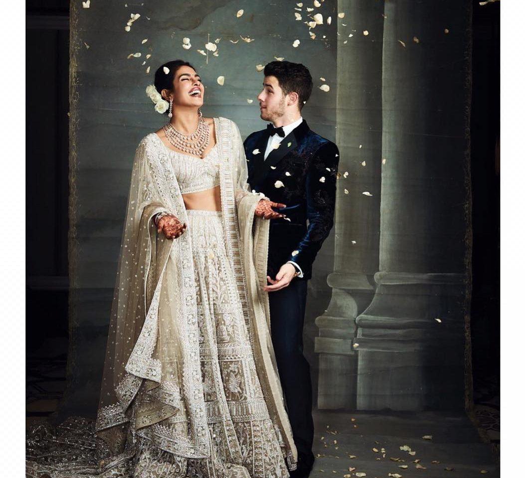Priyanka Chopra Jonas in Falguni Shane Peacock