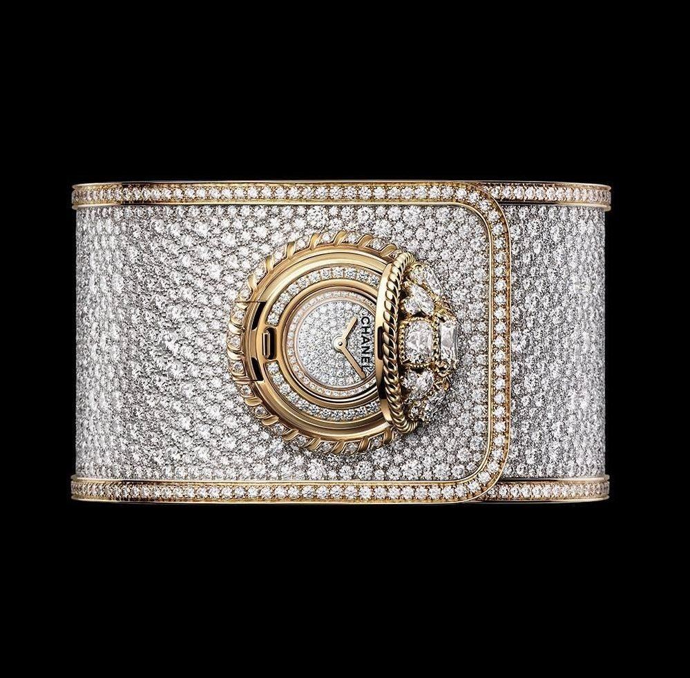 Chanel Madamoiselle Prive watch