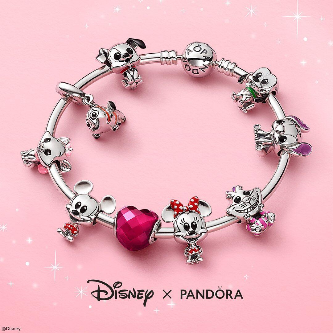 DIsney x Pandora Collection. Source: Pandora - Instagram