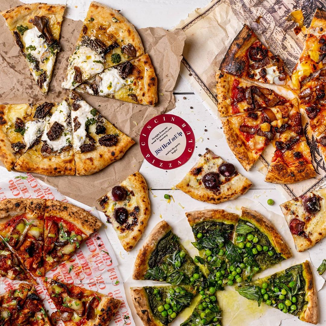 Pizza Club. Source: CinCin India