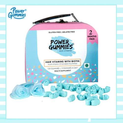 Power Gummies Hair Vitamins Pack of 2. Source: Nykaa
