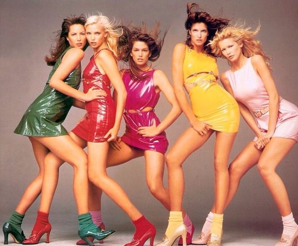 1994 Versace campaign photographed by Richard Avedon