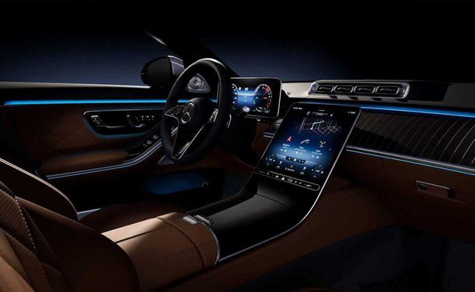 Mercedes Benz 2021 S-Class interiors. Courtesy: Mercedes Benz