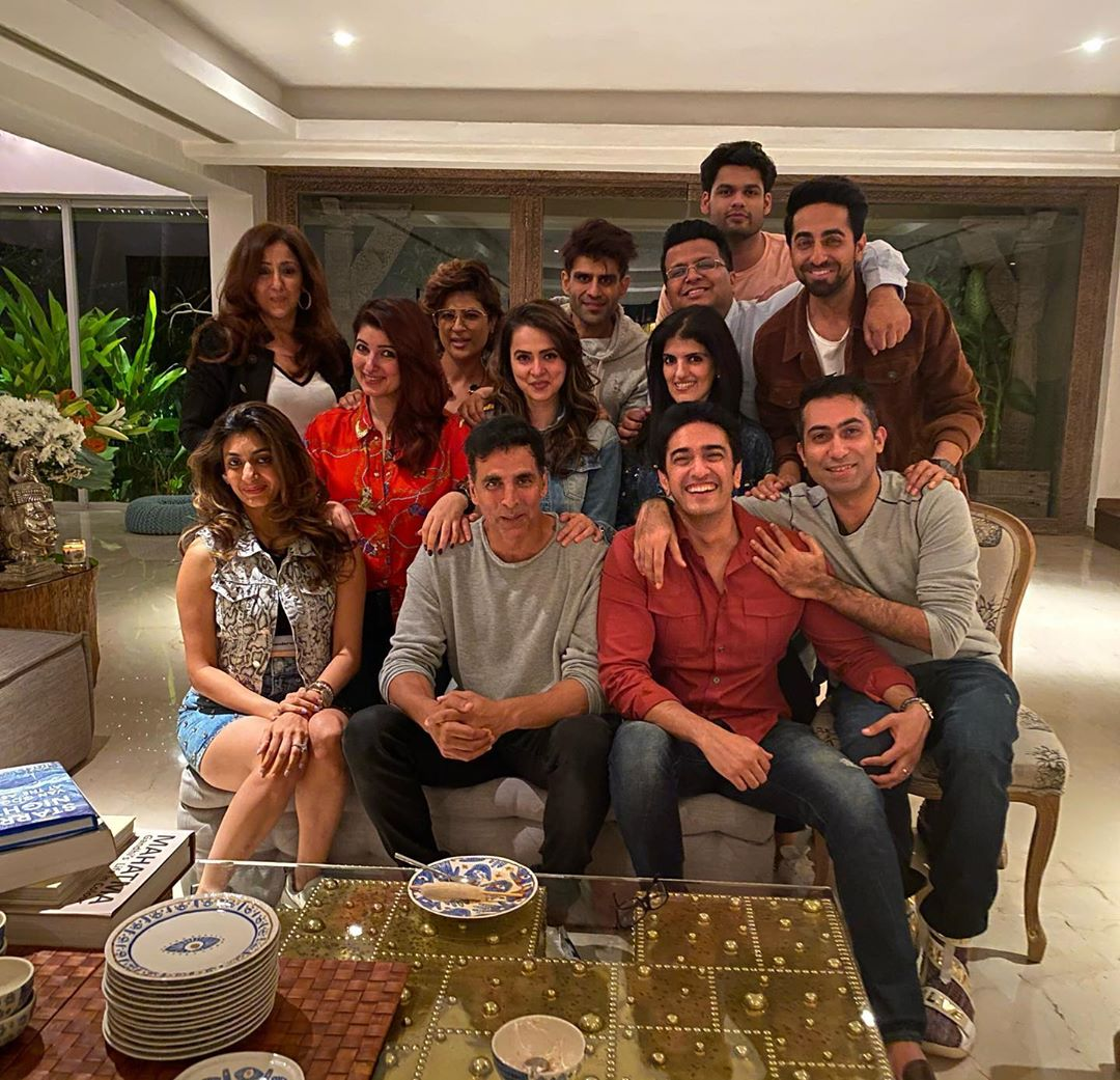 Juhu house. Courtesy: Instagram- Twinkle Khanna