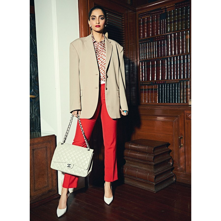 Sonam Kapoor, Chanel bag