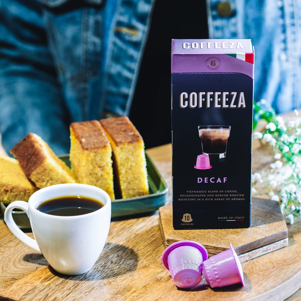 Decaf Coffee Capsules - Coffeeza