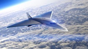 high speed jet by Virgin Galactic