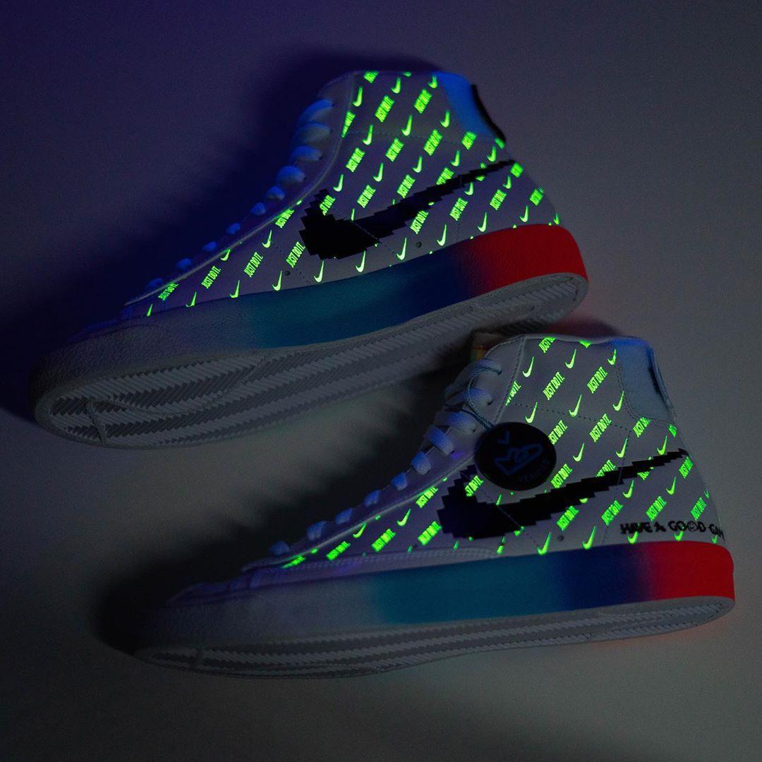 Nike, Glow-In-The-Dark Blazer Mid '77s