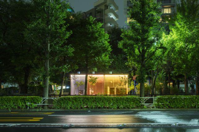 Public restroom at Yoyogi Fukmachi Mini Park. Courtesy: The Tokyo Toilet Project