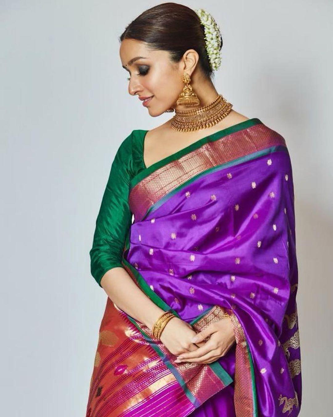 Shraddha Kapoor festive wear