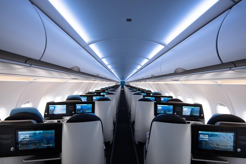 Airbus A321 Neo plane. Courtesy: La Compagine