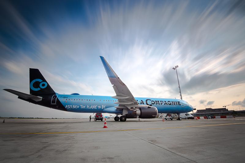 Airbus A321 Neo plane. Courtesy: La Compagnie