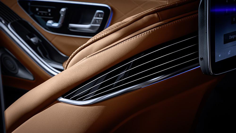Mercedes Benz 2021 S-Class interiors. Courtesy: Mercedes Benz USA