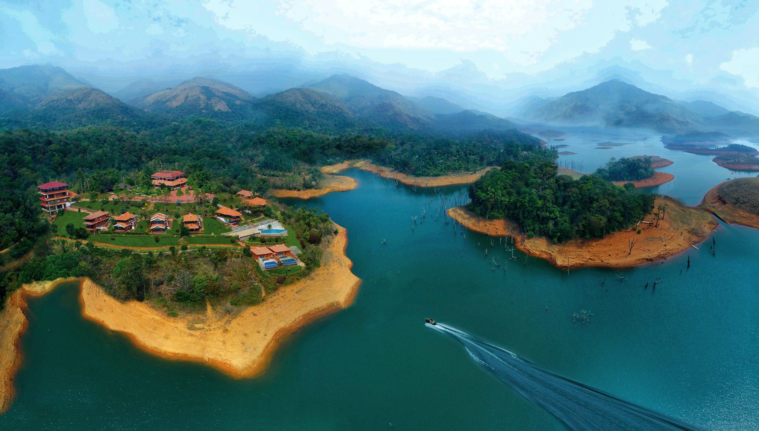 Contour Island Resort and spa. Courtesy: Contour Island Resort and spa