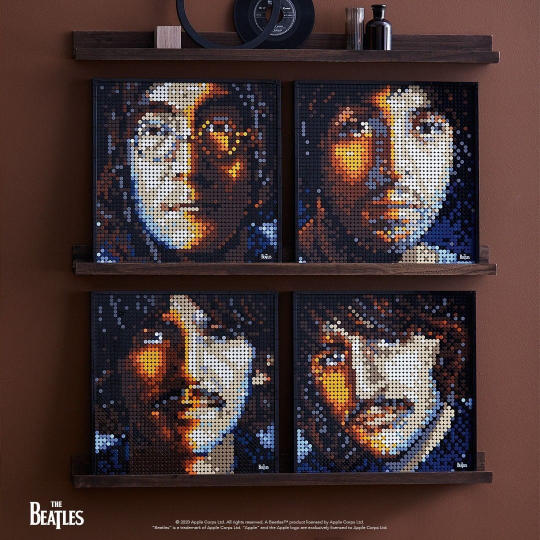 The Beatles. Source: Intagram - Lego