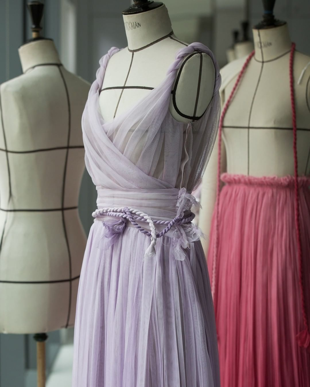 Gowns. Source: Instagram - Dior