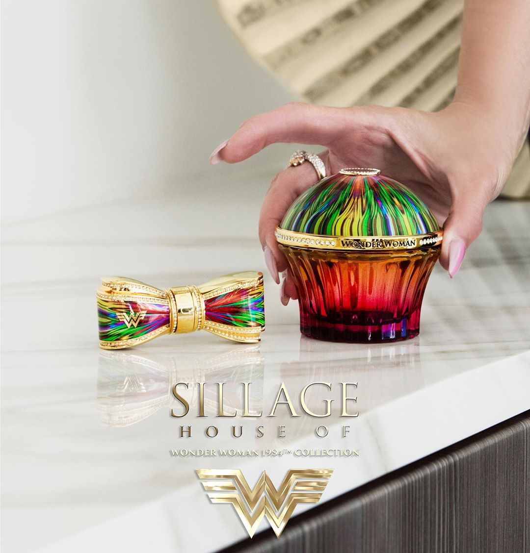 Wonder Woman 1984 Limited Edition Collection. Source: House of Sillage
