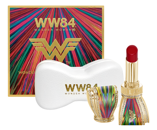 Wonder Woman 1984 Collection Limited Edition Bow Lipstick Set. Source: House of Sillage