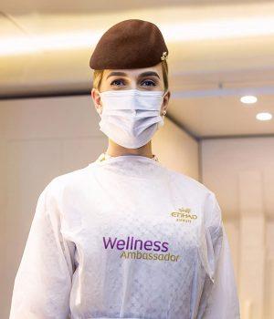 Wellness Ambassador. Source: Etihad Airways