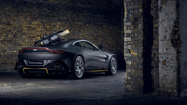 Aston Martin Vantage 007 Edition Courtesy: Aston Martin