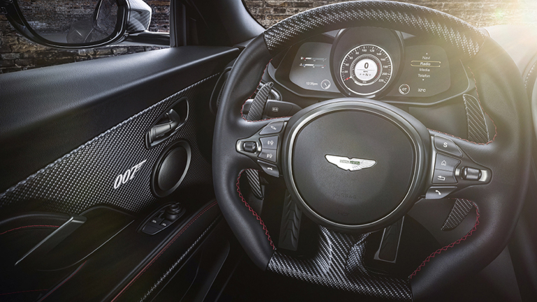 DBS Superleggera 007. Courtesy: Aston Martin