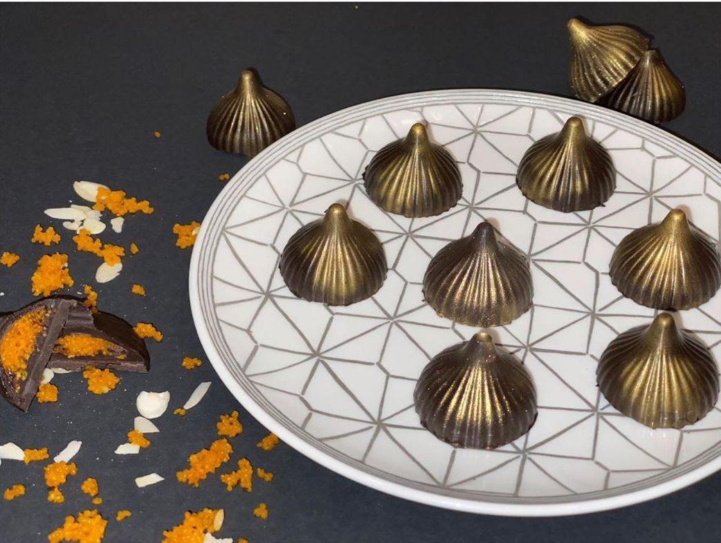 Chocolate Modak with Motichoor Laddo Filling. Courtesy: Instagram - Taste Retreat
