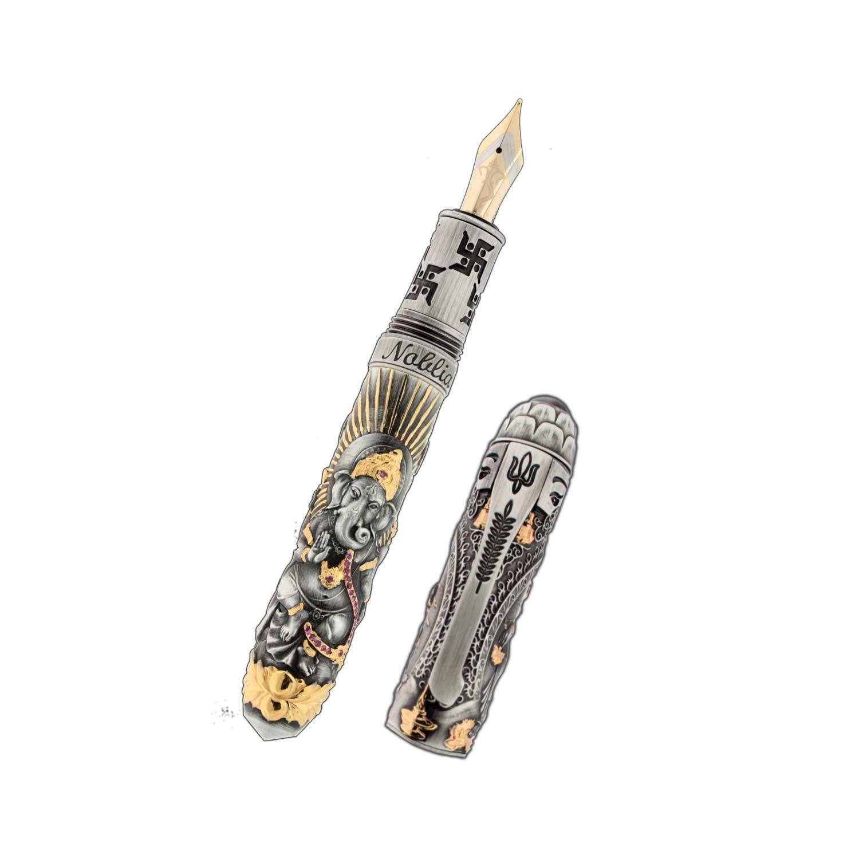 Noblia Limited Edition Ganesh Fountain Pen. Courtesy: William Penn