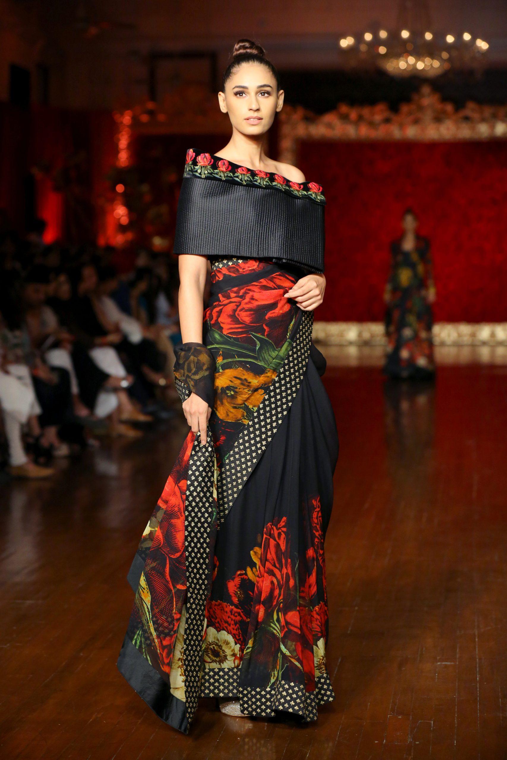 Sari by Rohit Bal