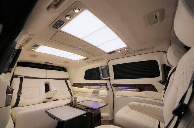 Mercedes V Class. Courtesy: Instagram - DC Design