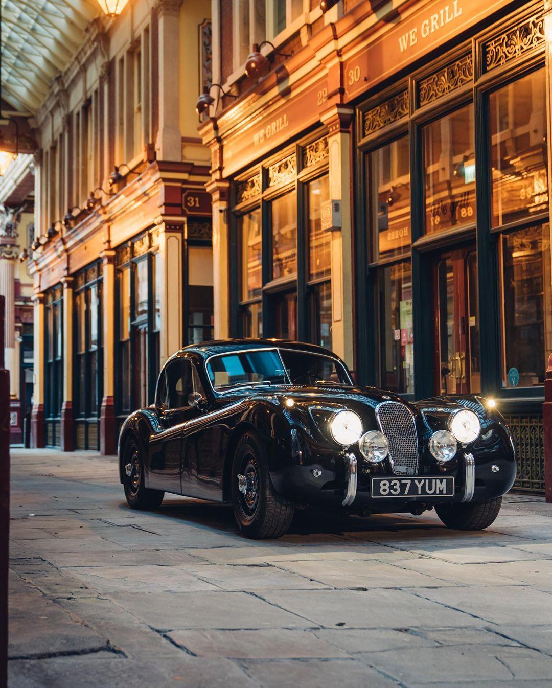 Jaguar XK120. Courtesy: Lunaz Design