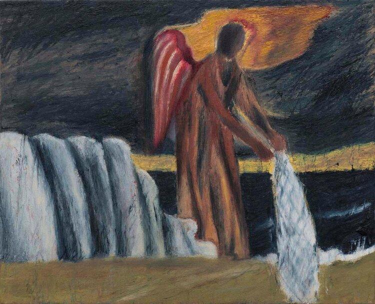Atul Dodiya - Angel