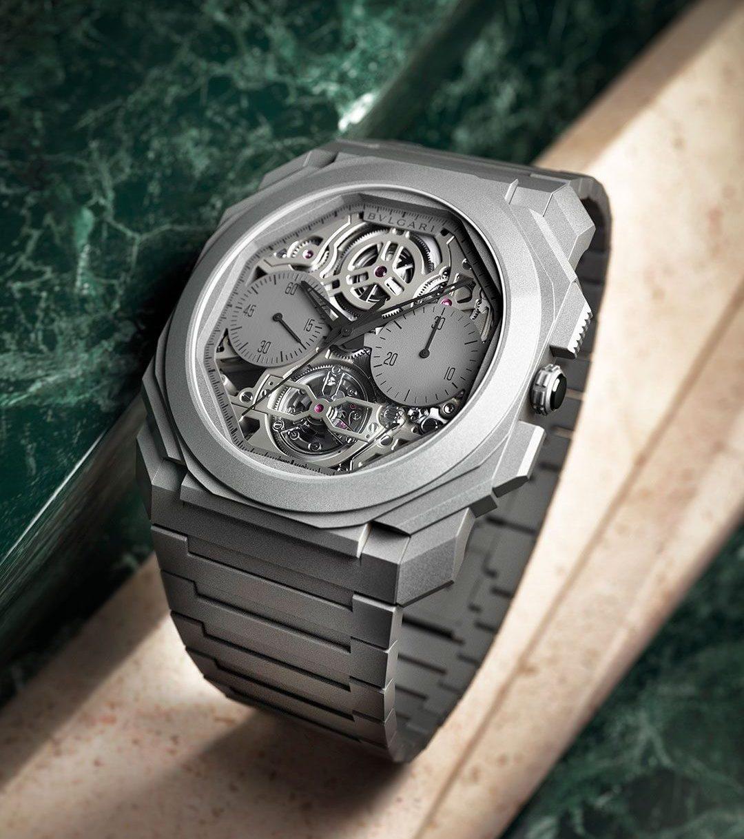 Geneva Watch Days- Bulgari Octo Finissimo Tourbillon Chronograph Skeleton Automatic