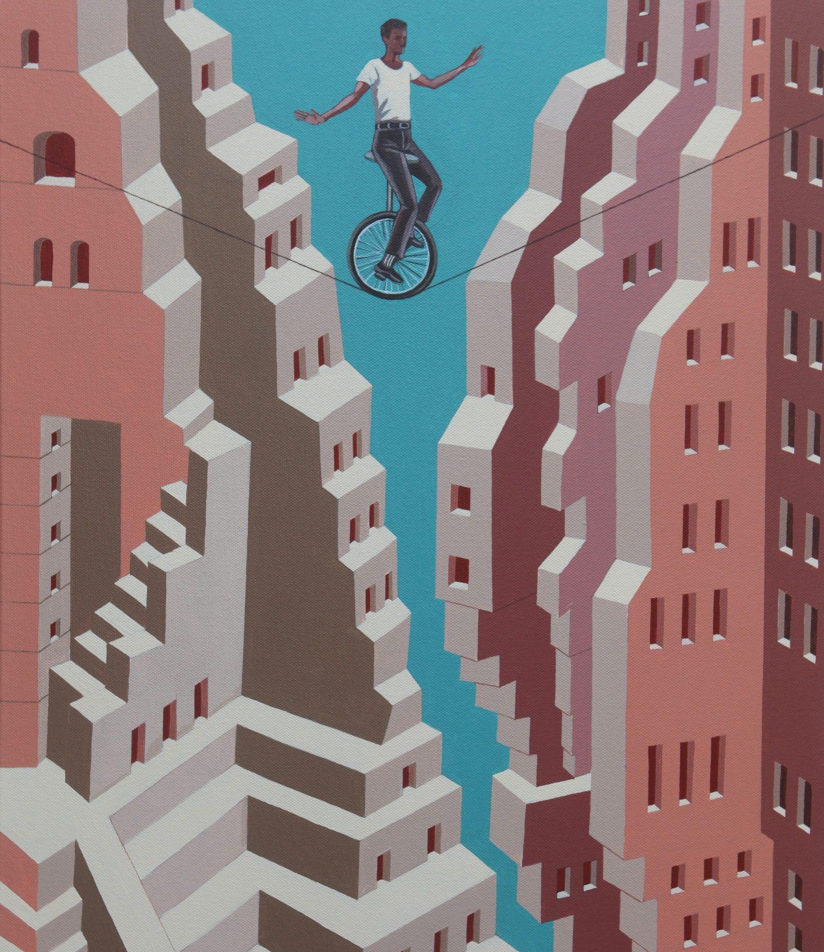Future is not Fixed- Gigi Scaria -Stumble artwork
