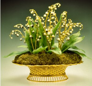 Fabergé Basket of Lilies of the Valley