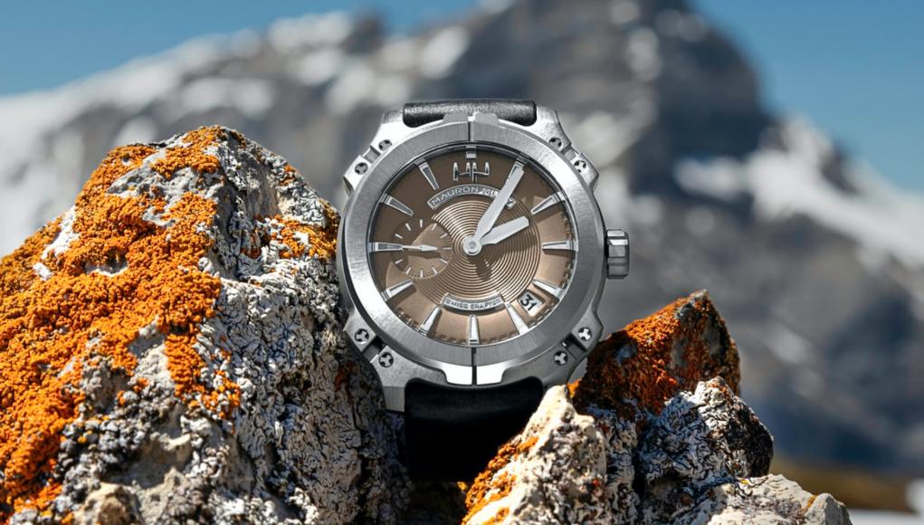 Swiss watch with a backgorund / unsplash