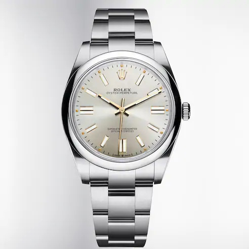 New Oyster Perpetual. Courtesy: Rolex