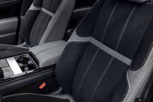 luxury cars using sustainable fabrics