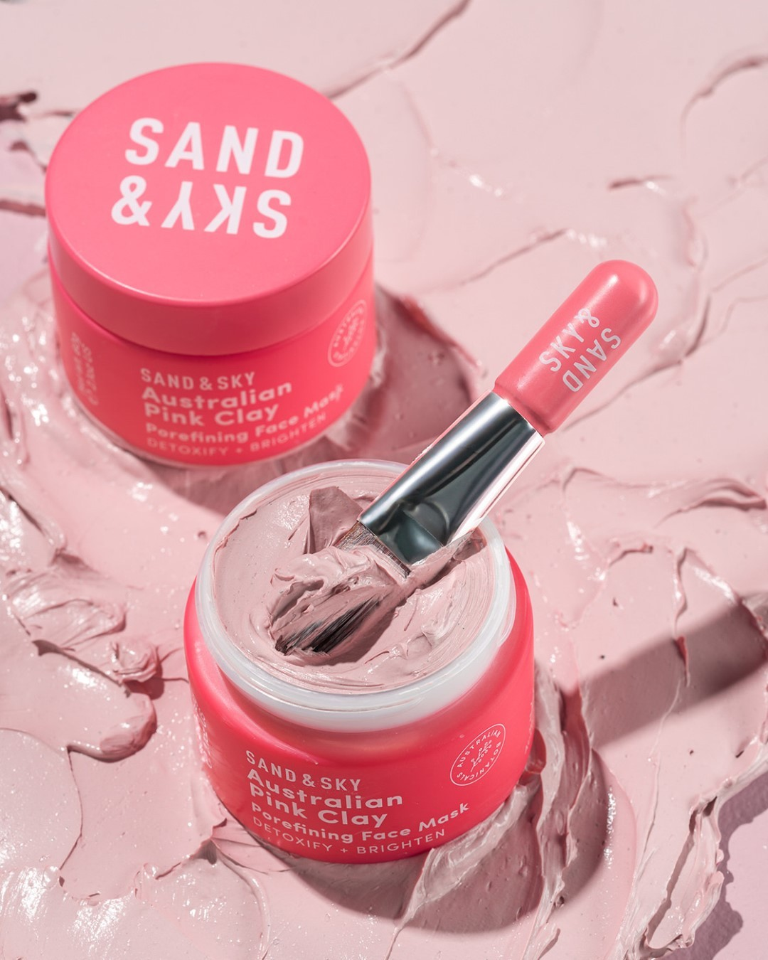 Sand & Sky Australian Pink Clay Mask