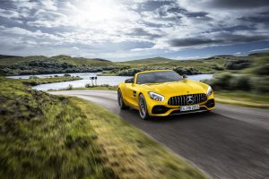 Mercedes-AMG GT S Roadster with sustainable fabrics